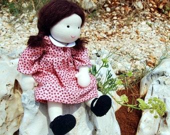 Waldorf inspired doll