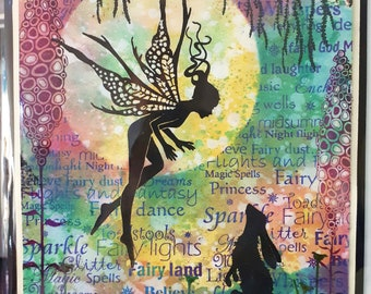 Spellbound and the hare fairy card