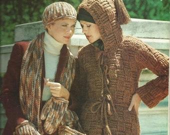 """Vintage 1977 Columbia-Minerva  """"The Lofty, Loopy Coldwear Look""""  Leaflet"""