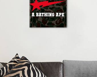 Bathing Ape Canvas