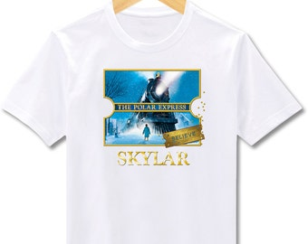 Polar Express Christmas - Bodysuit or T-Shirt