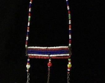 Vintage 1980's Handmade Tribal African Earring (TBxP1)