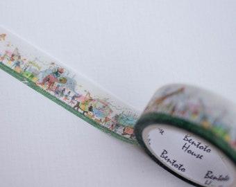 Washi Tape Noahs Ark Animal Parade 7m Craft Scrapbooking