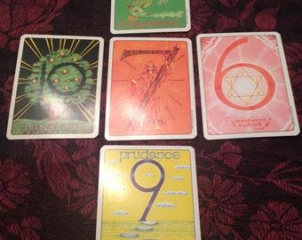 Five Card Tarot Reading