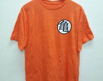 Dragon Ball z big Kenji T-shirt Medium size anime movie Japanese Brand