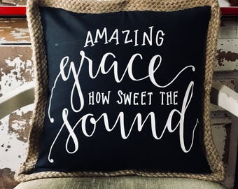 Amazing Grace Decorative Pillow