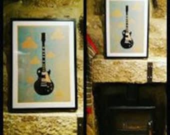 Gibson Les Paul (unframed)
