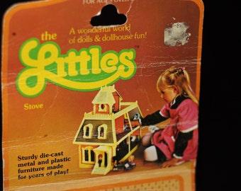 The LITTLES Vintage 1980s Diecast Metal Toy Furniture by Mattel