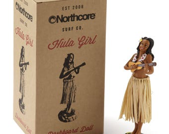 Northcore Hawaiian Hula Dashboard Doll