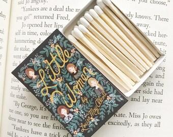 Little Women Book Matches // Louisa May Alcott // Stocking Stuffers