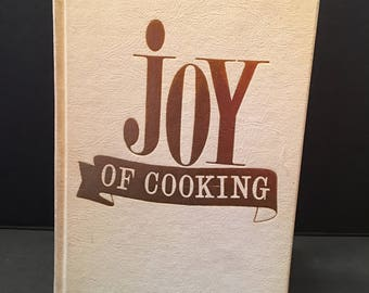 Joy of Cooking Cookbook ~ 1962 ~ Vintage Cookbook