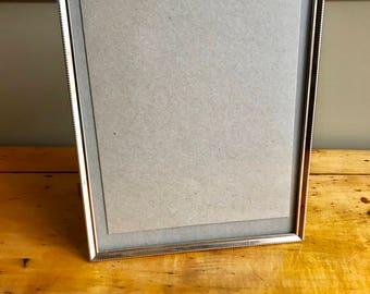 Gold Frame Brass Picture Frame 10x13 Frame Wedding Frame Old Frames Photo Frame for Art Frame for Art Brass Frame Metal Frame Large Frame 2