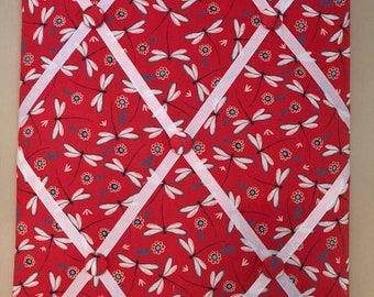 Fabric Memo Board - Dragonfly