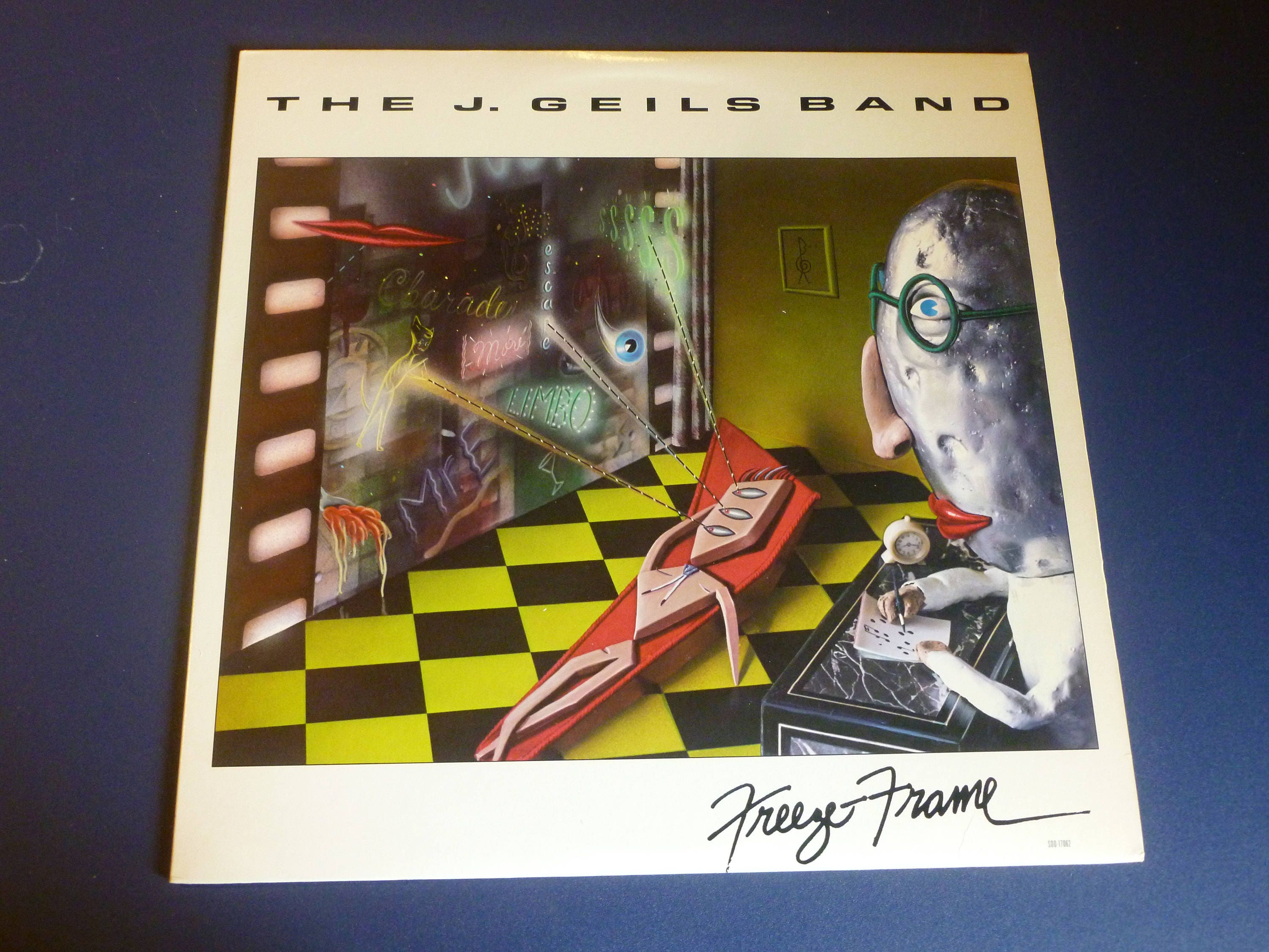 On Sale The J. Geils Band Freeze Frame Vinyl Record LP