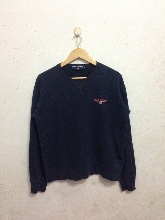 Vintage 90's Polo Sport By Polo Ralph Lauren Sweatshirts Size M SrTKa