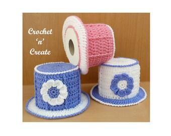 Top Hat TP Cover Crochet Pattern (DOWNLOAD) CNC46