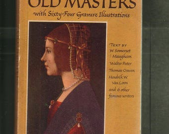 Old Masters, Pocket Book of.  1949 Pb In Very Good Condition*. Rare, Sixty-four Plates + Text, Narrative.