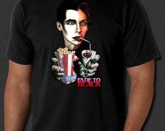 Fade To Black Horror Cult Classic 1980 Film Black T-shirt S-6xl