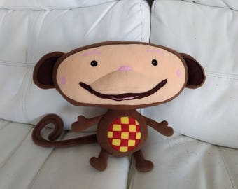 Toy Monkey, just like Oliver from Baby TV