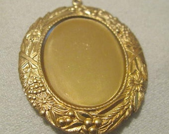 Large Cabochon setting  8761-s