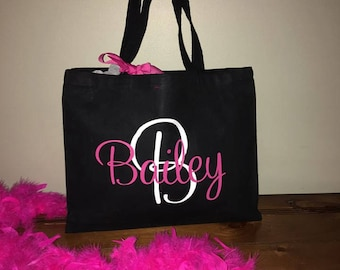 Personalized Bag, Personalized Tote, Tote with name, Bridal Party Bag, Canvas Tote with name, Canvas Tote, Bridesmaid Gift, Persoalized tote