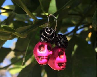 Sugar Skull Earrings,