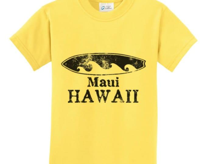 Maui Hawaii Surfboard T-Shirt