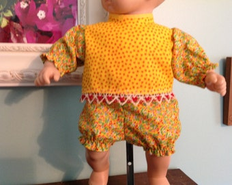 "15"" doll clothes, 15"" doll baby clothes, 15"" doll dress, 15 inch doll clothes, Handmade 15"" doll clothes"