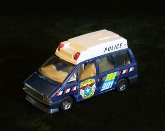 Vintage Guisval 1:43 Renault Espace Police Special Brigade 301 Rare Selten Version