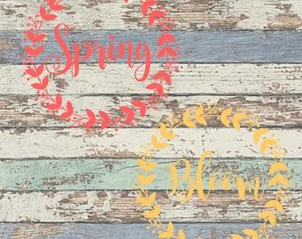 Spring Bloom SVG, Spring, Bloom