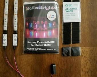 Color changing RollerBrights LED lights for Skates