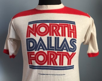 70s Vintage North Dallas Forty 1979 movie 40 T-Shirt - SMALL