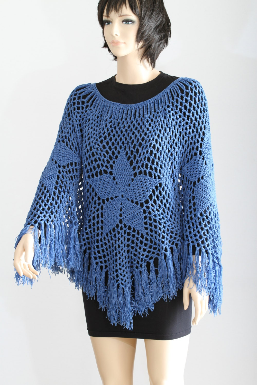 Poncho Pattern PDF Cape Pattern Crochet Shawl Women\'s