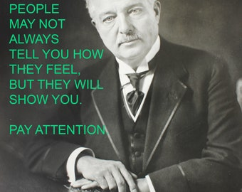 Art Print: Pay Attention