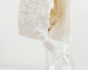 The Amy Christening Baby Bonnet