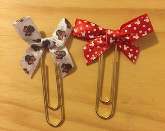Minnie Mouse Paperclips
