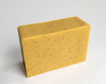 50% OFF SALE - Cinnamon, Clove and Nutmeg Scented Soap, Goats Milk Soap, Exfoliating, Moisturizing