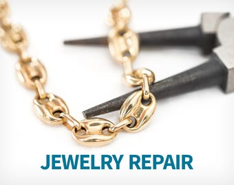 Jewelry Repair, Jewelry Repair Service, Restring, Resize, Rework, Remake, Repair, Jewelry Cleaning, Lengthen, Shorten, Alter, Alterations