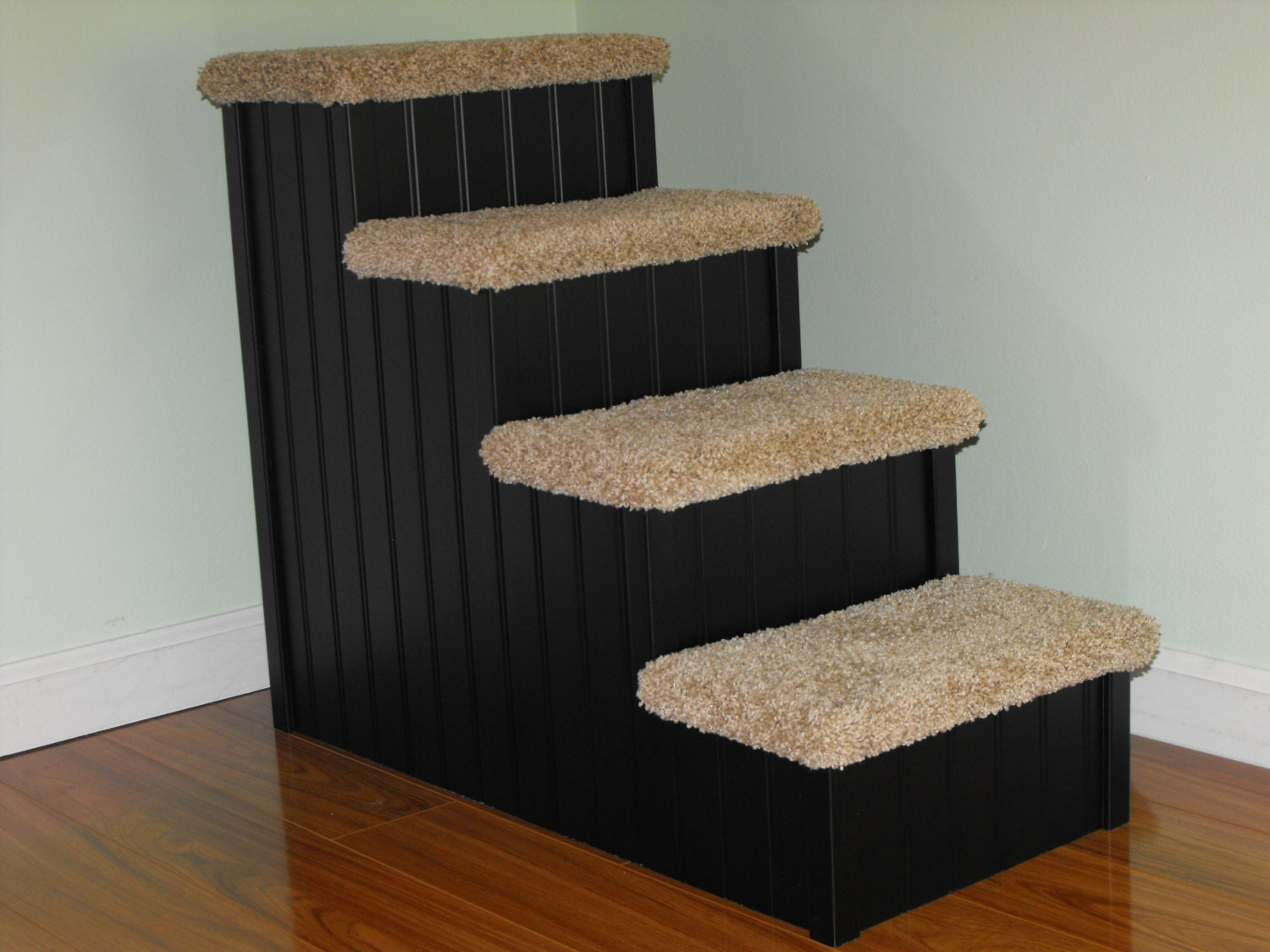Superior Pet Stairs, 24 High Dog Steps For Pets 5 30 Lbs, Dog Stairs, Pet Steps,  Doggie Stairs For Small Dogs, Best Stairs For Dogs To Get On Bed