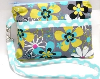 Wristlet Sewing Pattern Purse Sewing Pattern PDF Instant Download Wristlet with exterior pockets
