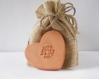 Brown sugar keeper, Terracotta Brown Sugar Disk, Pottery Brown Sugar Saver - Ceramic Sugar Saver - Handmade Essential Oil Disk - In Stock