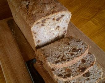 Date and Walnut Bread (gluten free, dairy free, gum free)