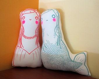 Little Mermaid Dolls: Mermaid and Princess