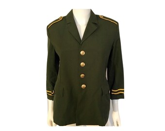 Vintage Military Jacket, Vintage Army Jacket
