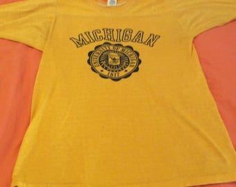 Vintage University of Michigan t-shirt S/M