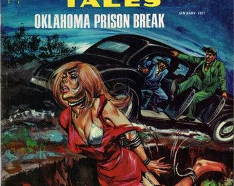 Murder Tales Vol. 1  #11 January 1971 WF Periodicals True Crime Comic VF