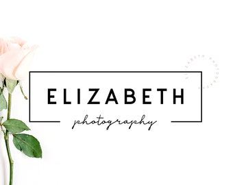 Business Logo Design, Graphic Design Logo, Photography Logo, Easy Premade Logo, Black and White Simple Logo Design, Vector Logo, Pretty Logo