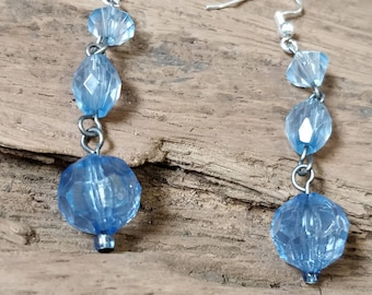 Ocean inspired drop earrings