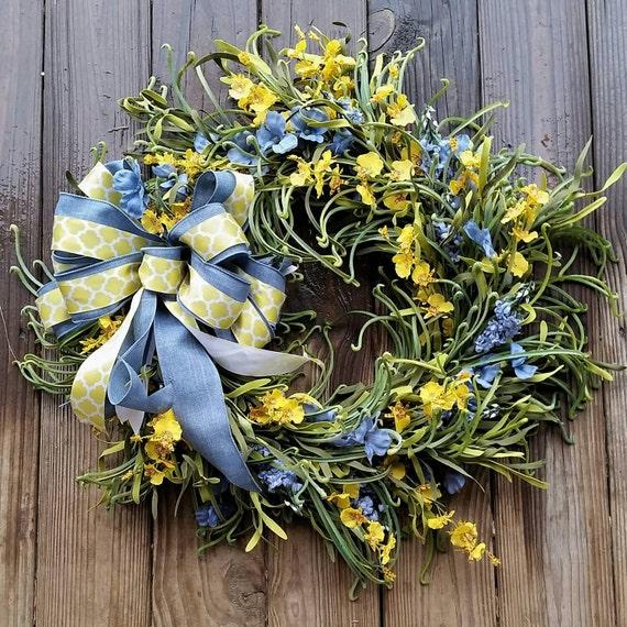 Spring Wreath, Summer Wreath, Easter Wreath, Extra Large Wreath