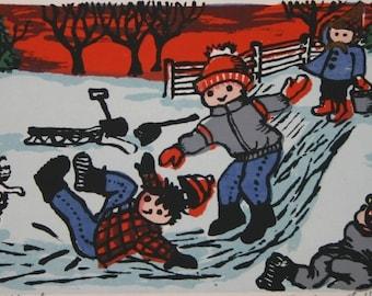 Icing Mt. Terror  by Barbara Fernekes Hughes